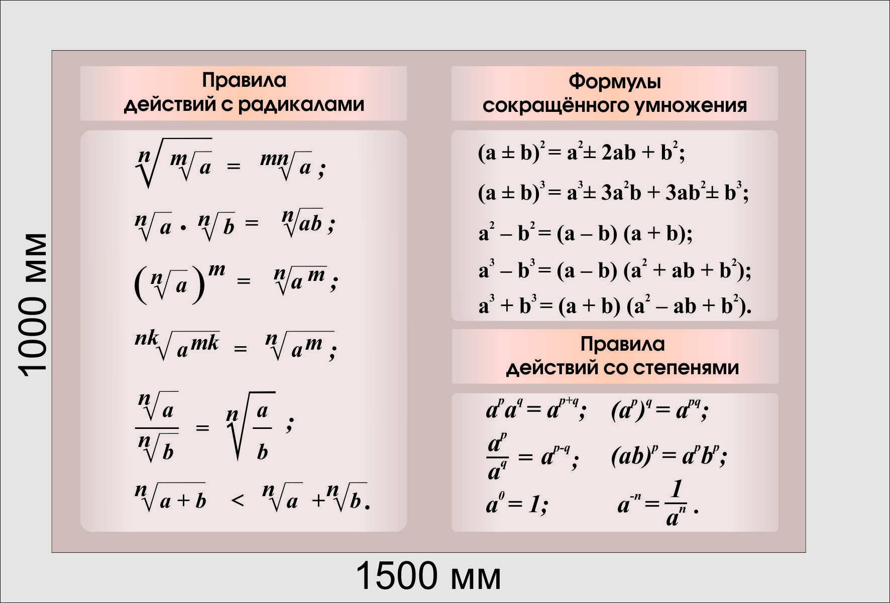 решебник по алгибре формула сокращёного триугольника и их приминения